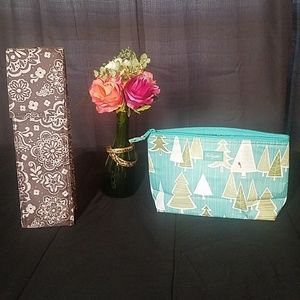 Thirty-one Thermal Bottle Bag & Zipper Pouch